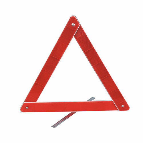 Accident Triangle Warning Sign