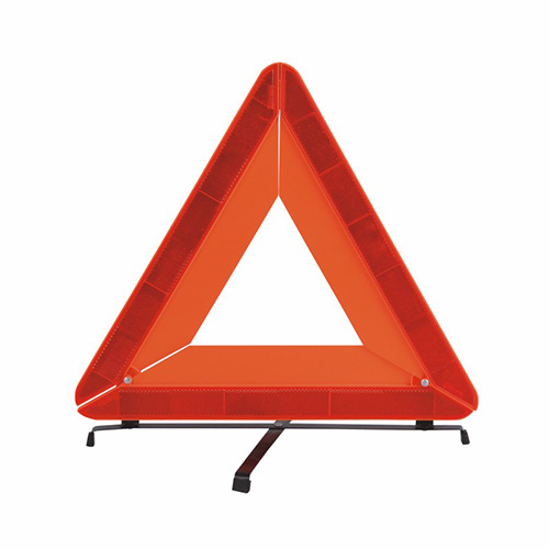 Bright LED Safety Triangle‎