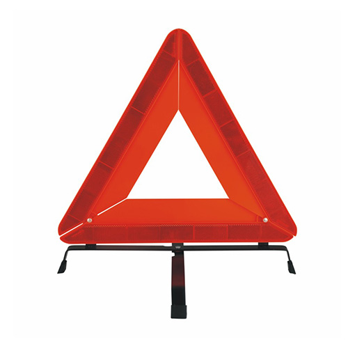 Safety Flag Highway Triangle Warning