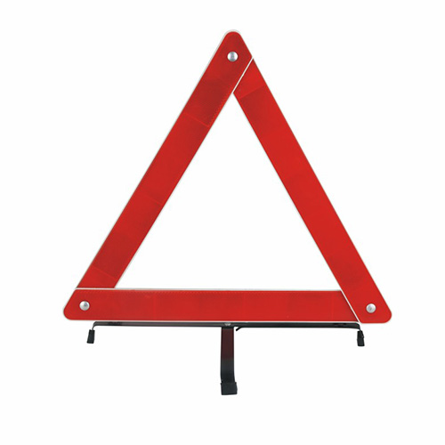 Car Safety And Warning Triangle