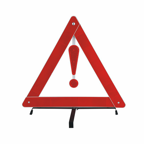 Reflective Traffic Warning Triangle