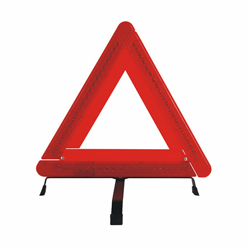 Security Triangle Warning Sign